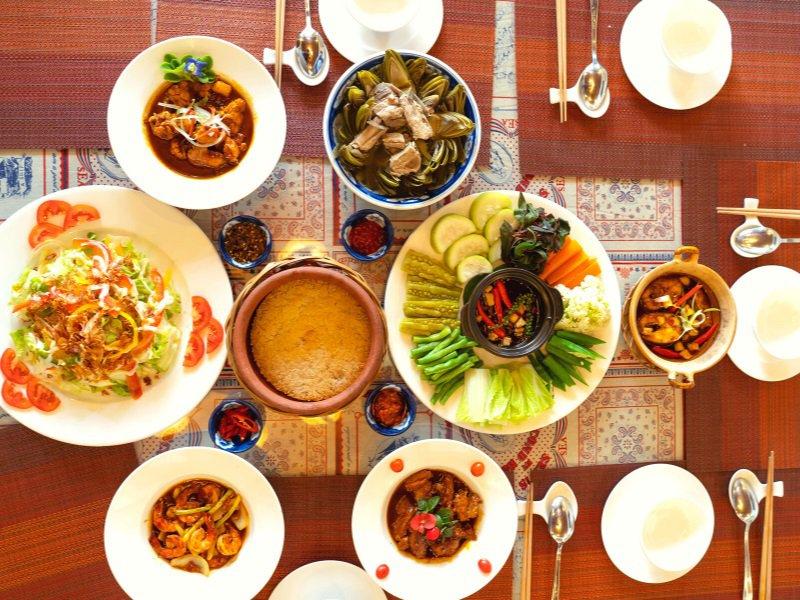 Món ăn trưa ngon ở Đà Lạt