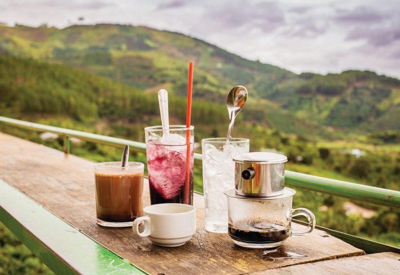 Cà phê tại Đà Lạt