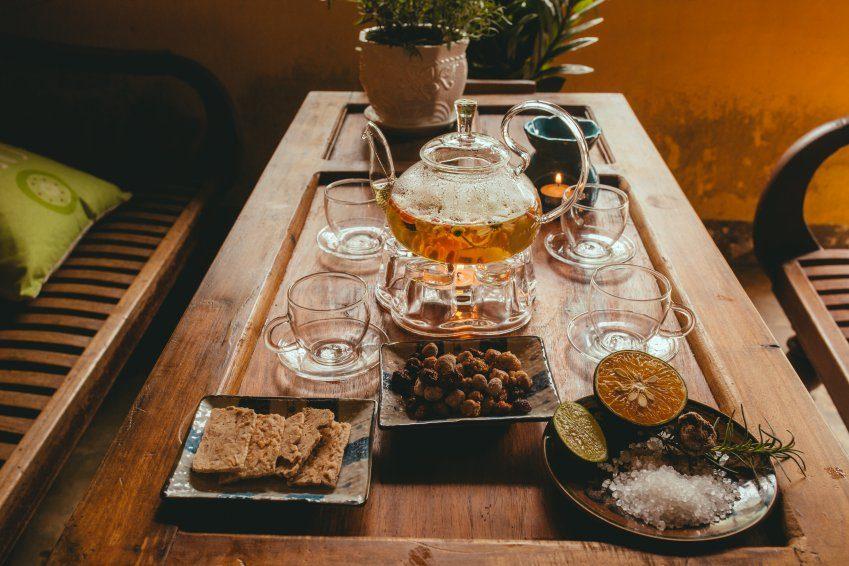 Image result for cafe ma rừng