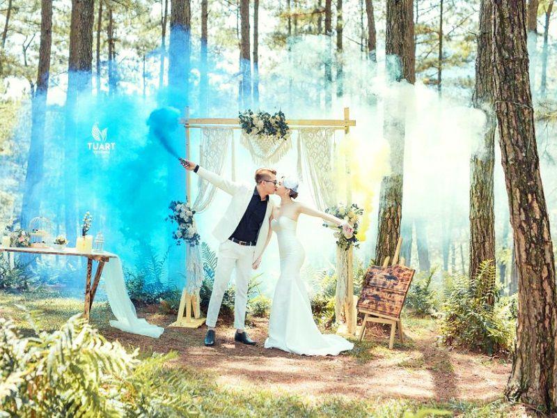 Studio chụp ảnh cưới chất lượng ở Đà Lạt