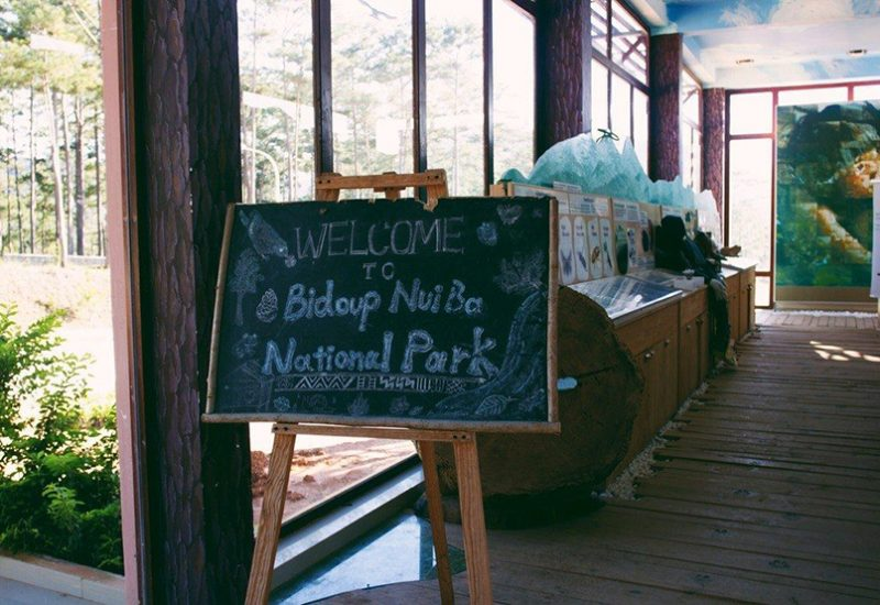 rừng quốc gia bidoup- núi bà