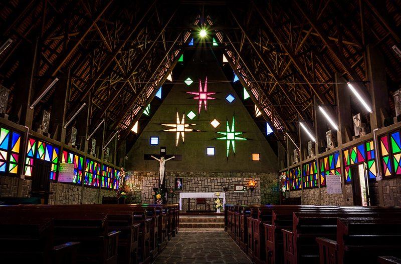 nhà thờ dân tộc cam ly