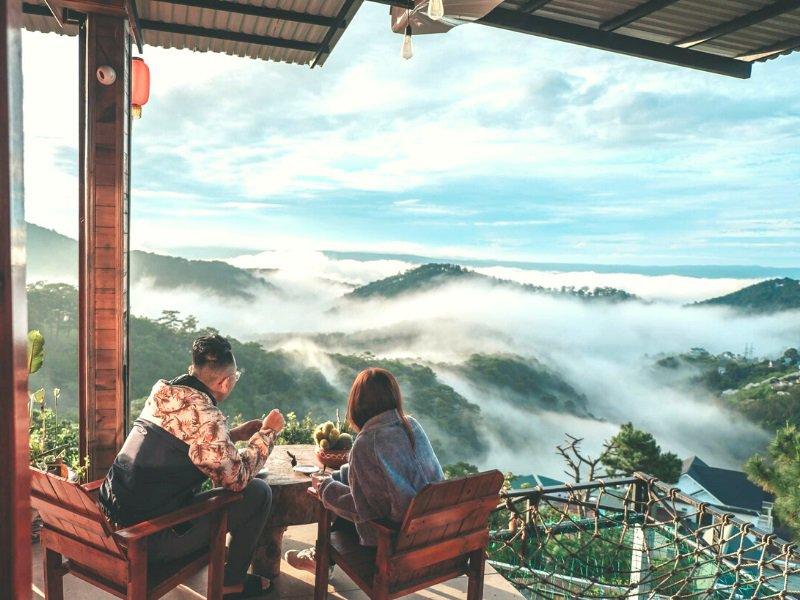 Quán cafe Đà Lạt