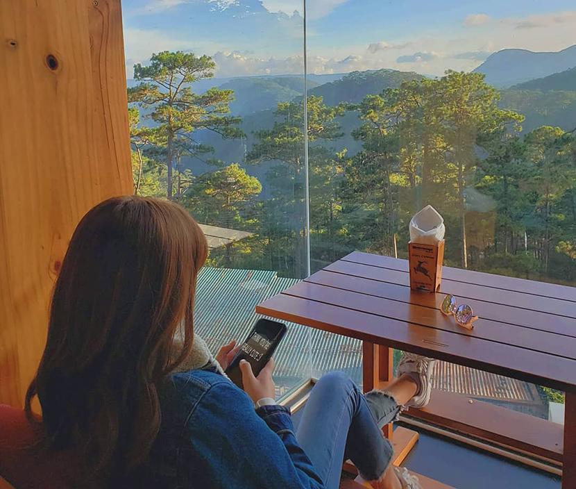 Quán coffee sống ảo tại Đà Lạt