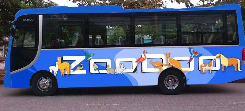 Xe buýt Zoodoo Đà Lạt