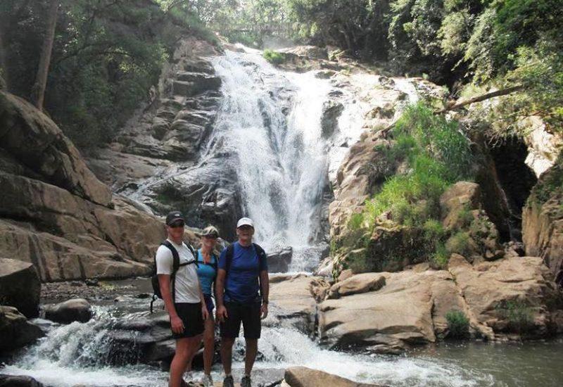 đường đi thác hang cọp