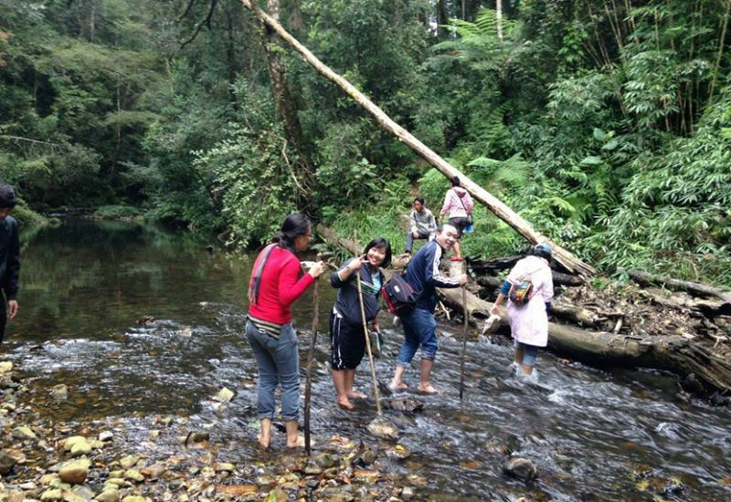 tour trekking bidoup