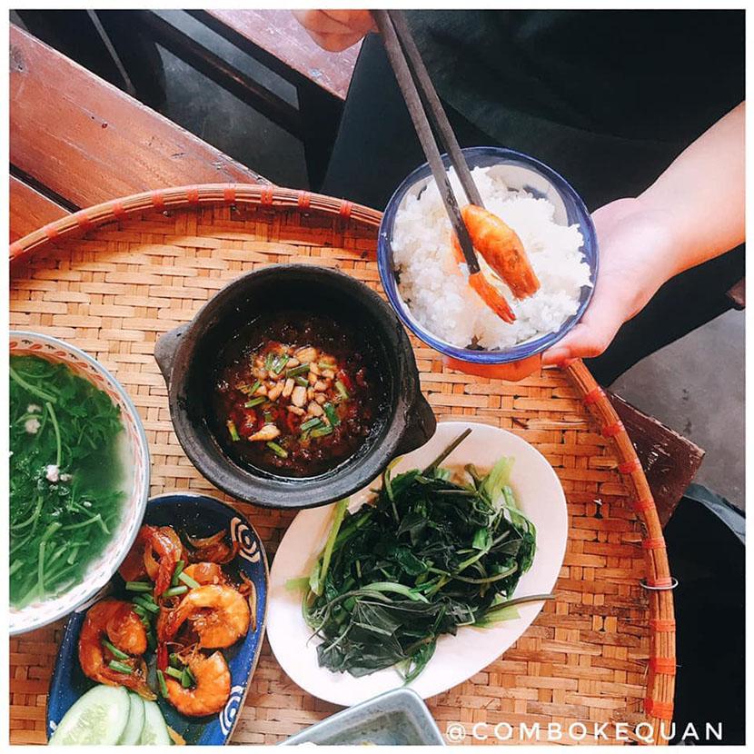 Cơm gia đình ngon ở Đà Lạt