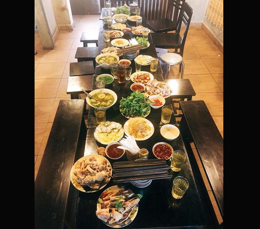 quán ăn gia đình tại Đà Lạt