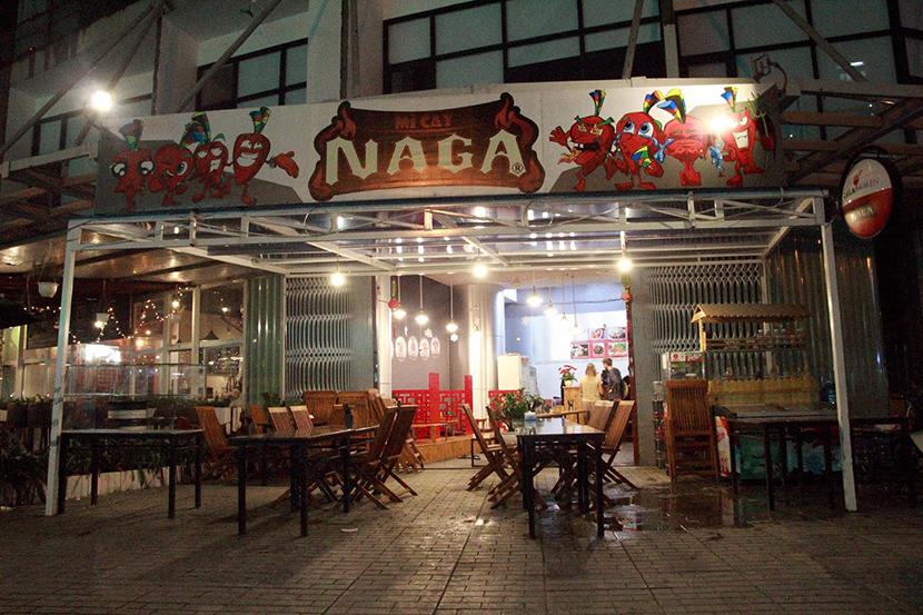 Mì cay Naga tại Đà Lạt