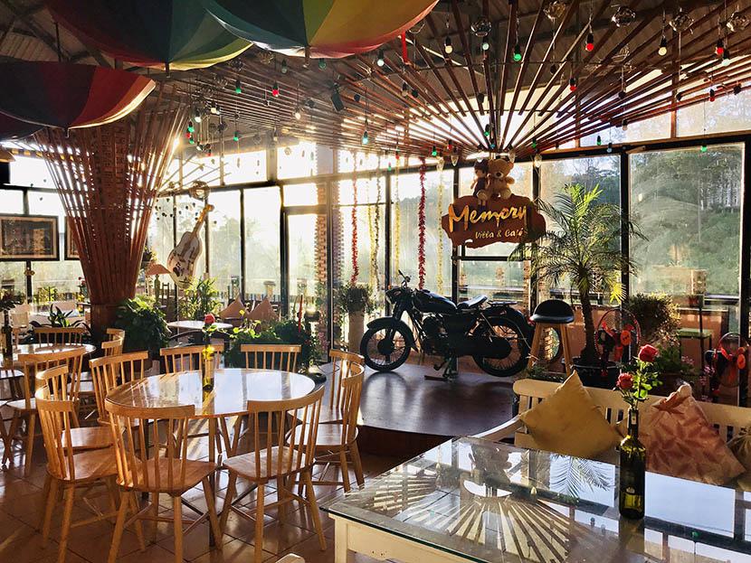 nhà hàng và cafe Memory Đà Lạt