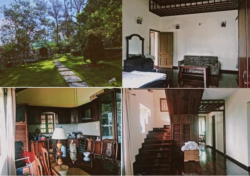 Cho thuê villa Pháp ở Đà Lạt
