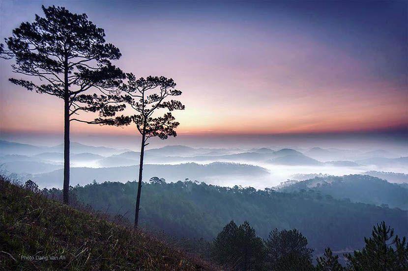 Săn mây tại đỉnh Hòn Bồ Đà Lạt