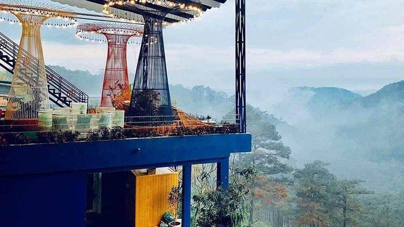 Săn mây tại Sleep Box Horizon Coffee Đà Lạt