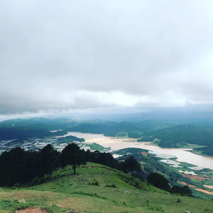 Săn mây trên đỉnh Lang Biang