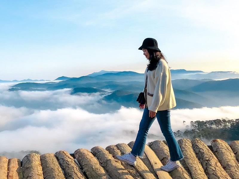 Kinh nghiệm săn mây ở Đà Lạt để có bức hình đẹp