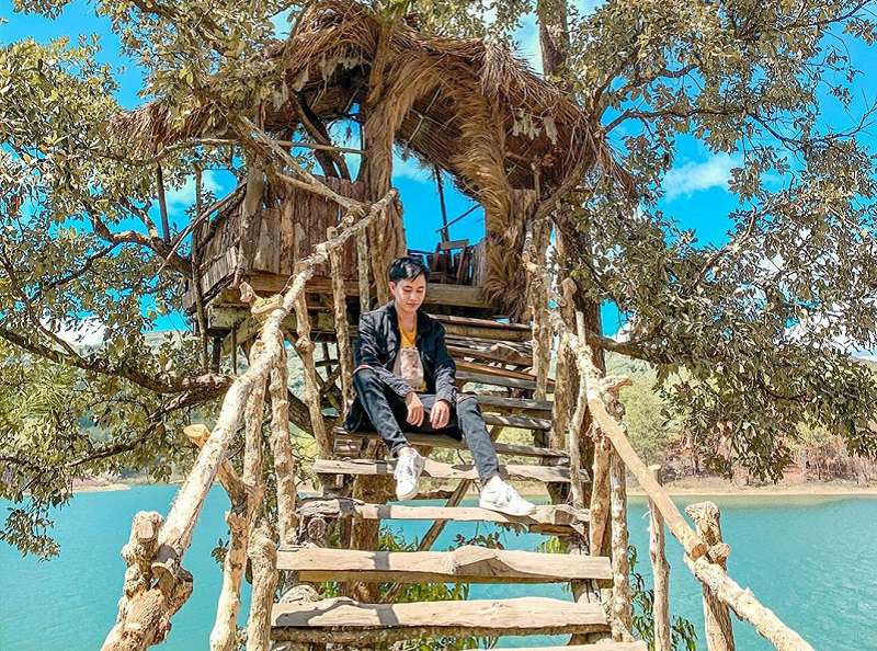 Ngôi nhà trên cây, nét độc đáo của Happy Hill