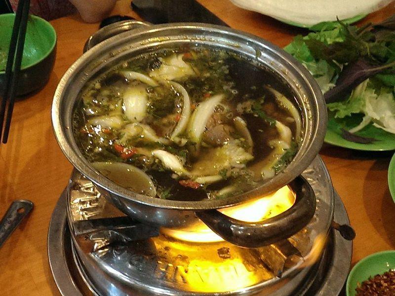 Thơm ngon hương vị lẩu dê ở Đà Lạt