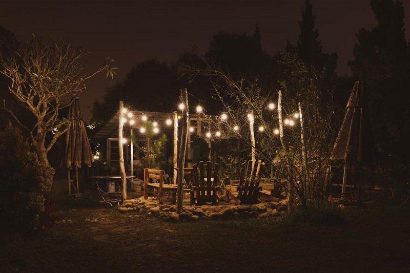 Không gian đầy lãng mạn trong khuôn viên In The Pines