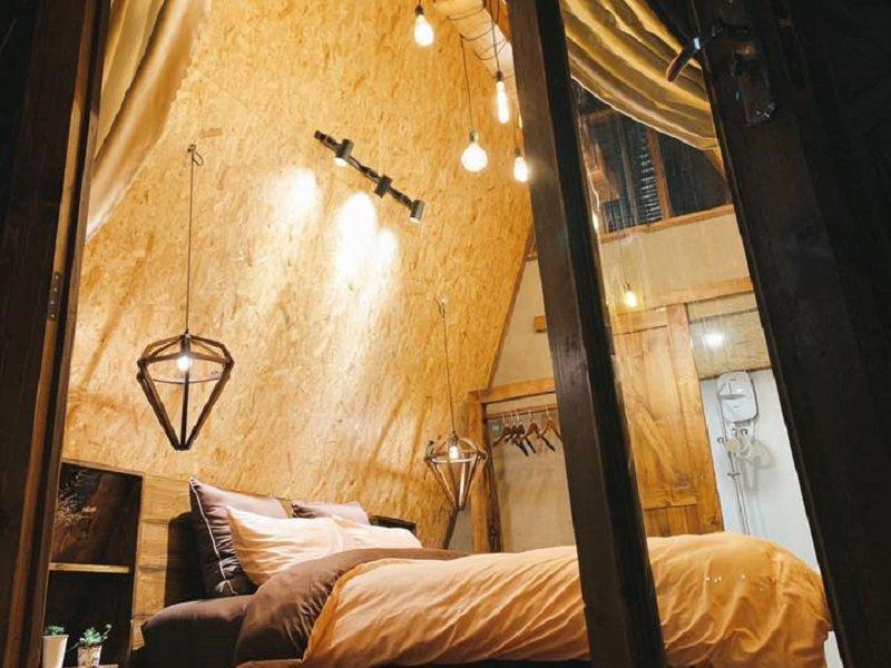 Không gian ấm cúng của homestay In The Pines
