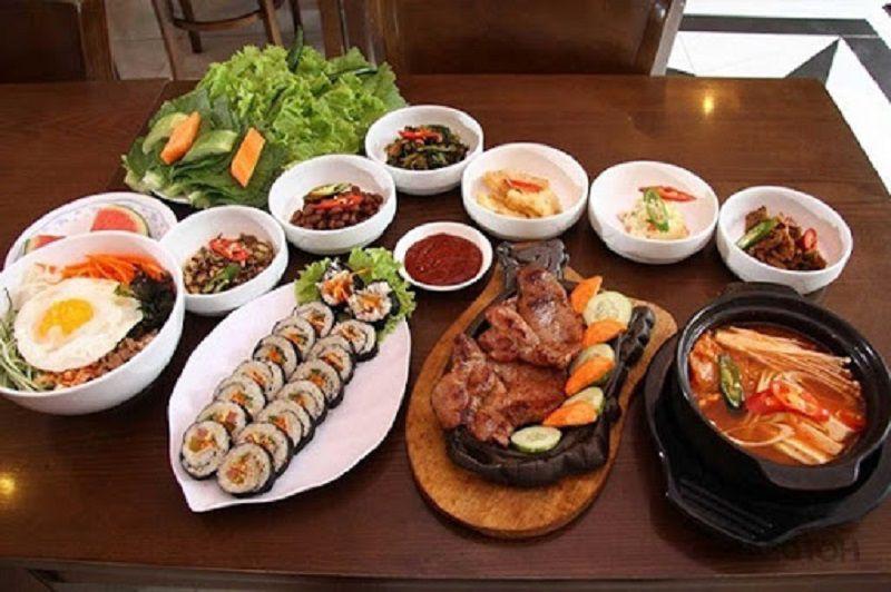 Cấc món ăn Hàn Quốc luôn là sự lựa chọn tuyệt vời