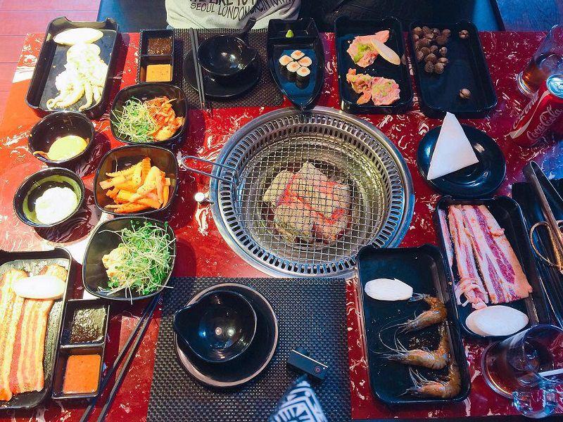 Thơm ngon hương vị món nướng Hàn Quốc ở Đà Lạt