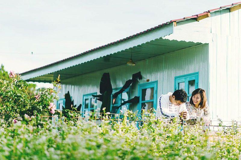 Ngôi nhà gỗ ở homestay The Kupid Đà Lạt