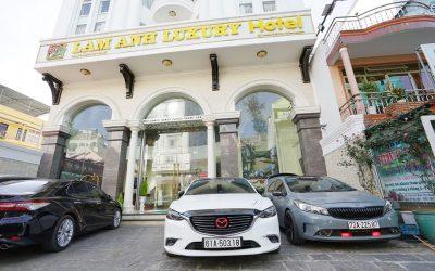 Khách sạn Lam Anh trên đường Bùi Thị Xuân Đà Lạt