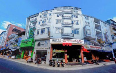 Khách sạn Nam Ngọc trên đường Nam Kỳ Khởi Nghĩa Đà Lạt
