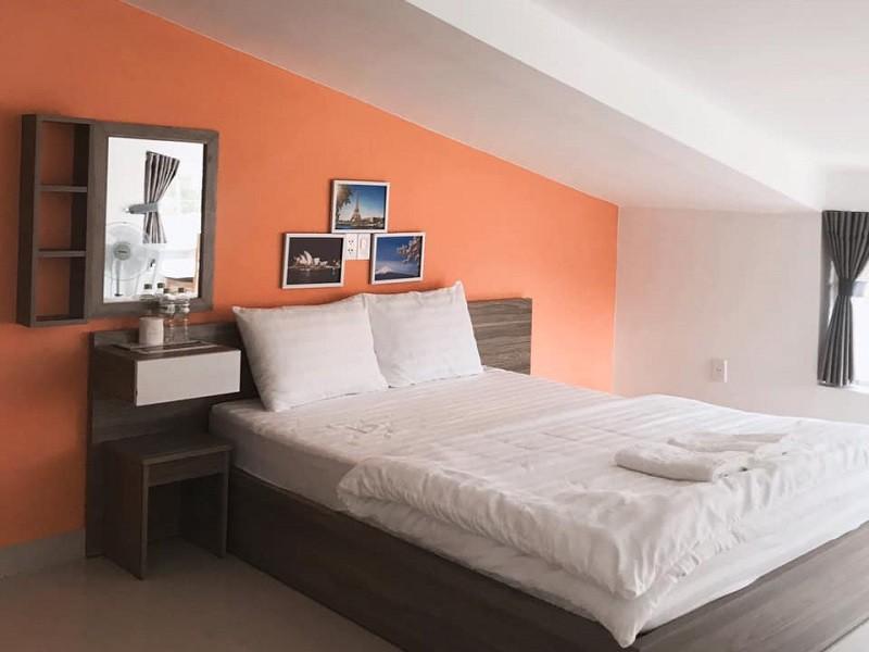 Không gian nội thất bên trong phòng ở Oppa homestay