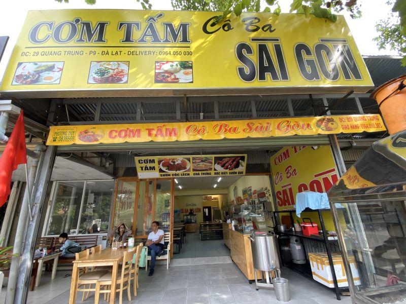 Cơm tấm cô ba Sài Gòn ở Đà Lạt
