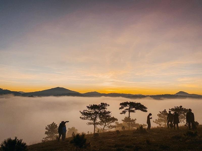 Săn mây tại đồi Thiên Phúc Đức Đà Lạt