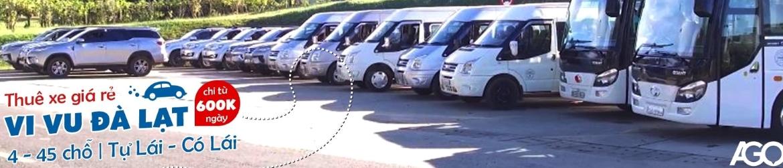 Cho thuê xe oto du lịch ở Đà Lạt
