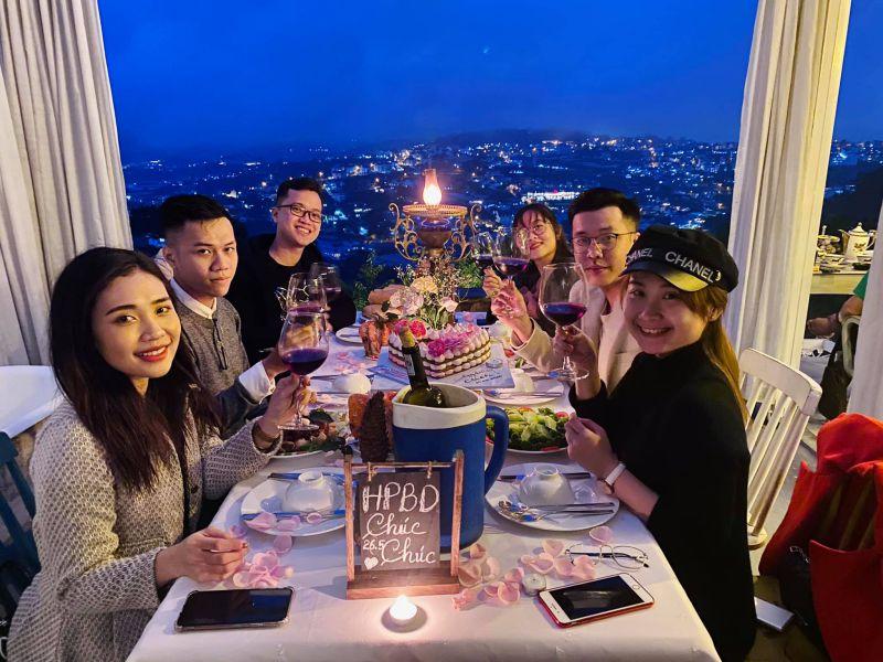 cafe Lululola Đà Lạt tiệc sinh nhật