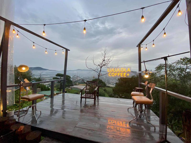 Không gian quán cafe Lululola