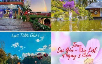 Tour Sài Gòn Đà Lạt