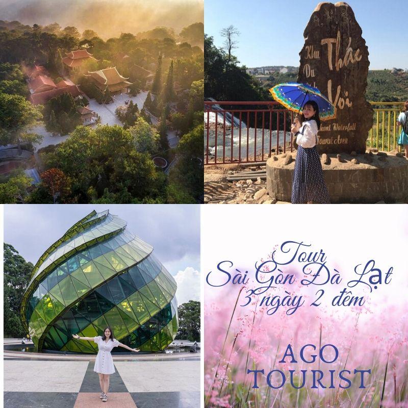 Tour du lịch Sài Gòn đi Đà Lạt 3 ngày 2 đêm