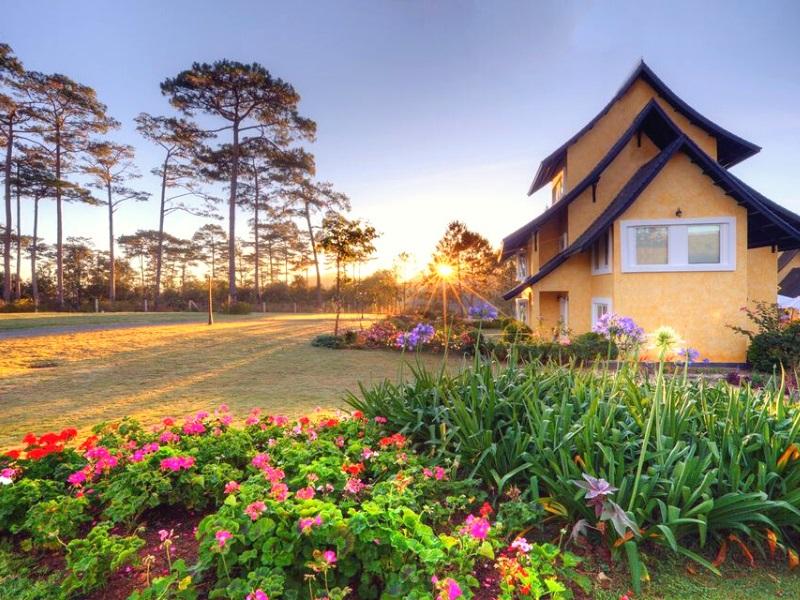 khách sạn Đà Lạt view đẹp