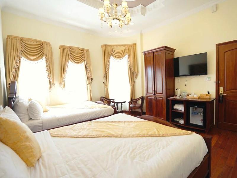 Khách sạn Đà Lạt ở trên đường Bùi Thị Xuân