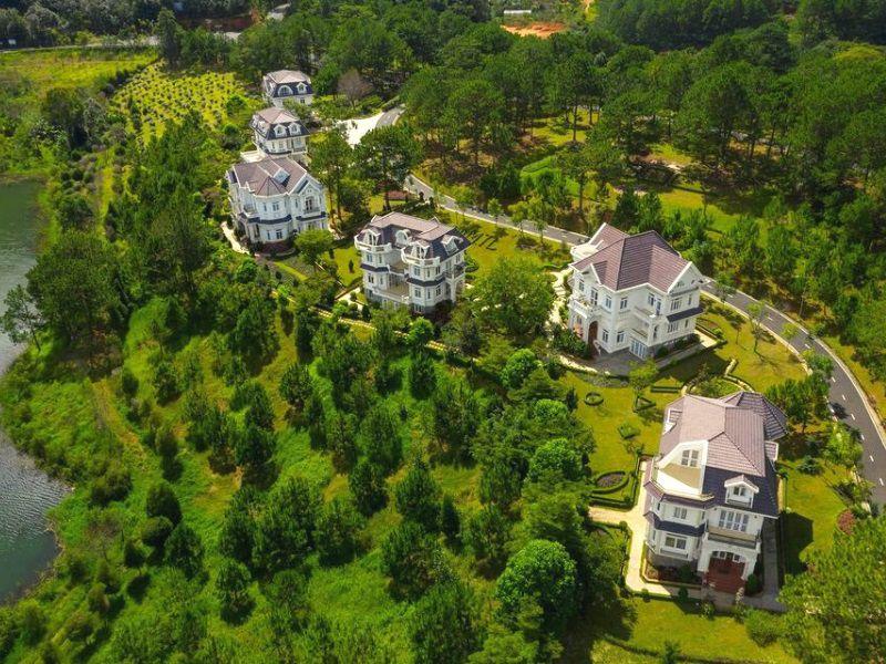 Resort Đà Lạt gần hồ Tuyền Lam