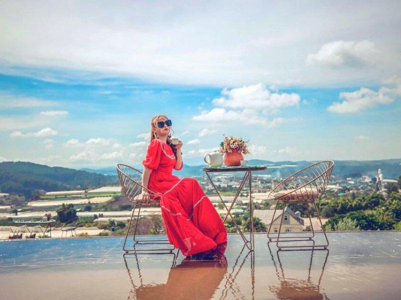 Quán cafe Đà Lạt có view hồ đẹp