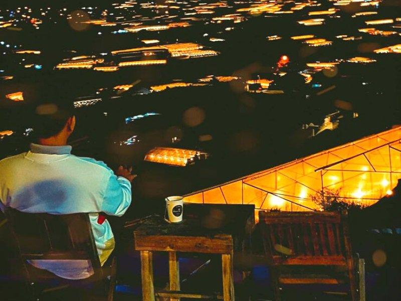 quán cafe đà lạt view đẹp về đêm