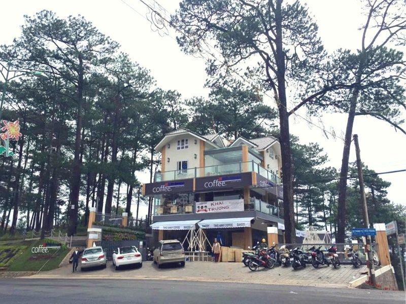 Quán cà phê ở Đà Lạt
