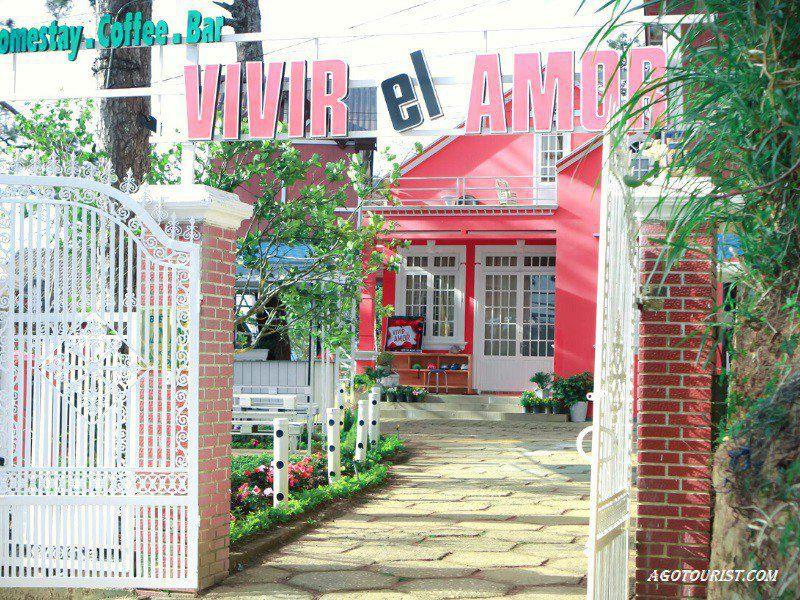Homestay có sân vườn, phù hợp với gia đình khi đi Đà Lạt