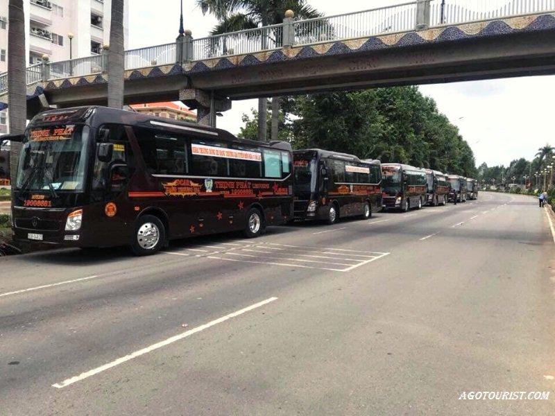 Nhà xe Limousine Sài Gòn đi Đà Lạt