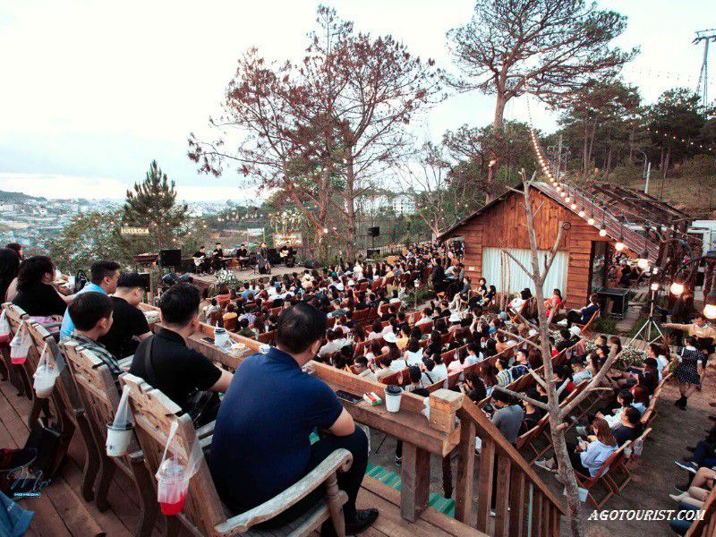 quán coffee acoustic Đà Lạt
